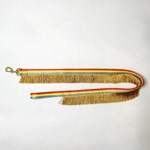 You Are Loved Pride Rainbow Fringe 4' Dog Leash
